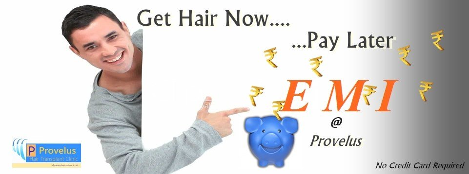 Hair Transplant Cost and EMI in Delhi, India